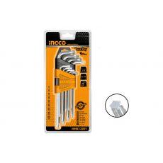 Звездообразные ключи 9 шт, HHK13091