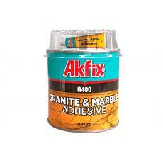 Клей для гранита и мрамора Akfix G400, 250 г