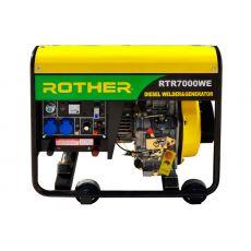 Дизельный генератор RTRROTHER RTR7000WE, 6.2 kW