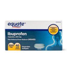 Ибупрофен болеутоляющее, жаропонижающее 200 мг, 40 капсул