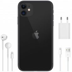 Смартфон Apple iPhone 11 64GB, 1 SIM, черный