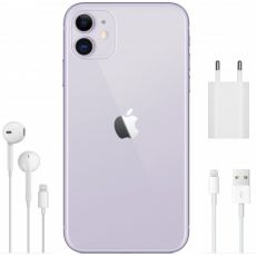 Смартфон Apple iPhone 11 64GB, 1 SIM, фиолетовый