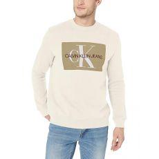 Свитшот Calvin Klein, молочный цвет