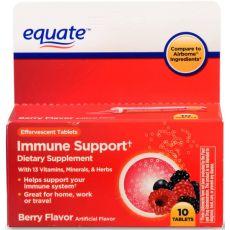 Помощник иммунитета с 13 витаминами, минералами и травами, БАД Equate 10 таблеток