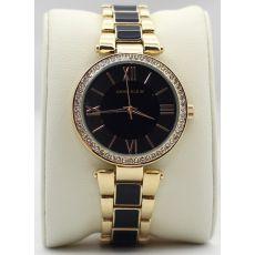 Часы с кристаллами Anne Klein, золотой
