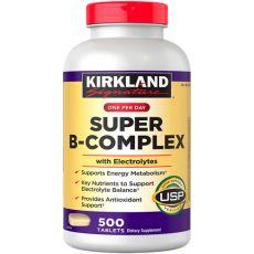 Витамин Super B-complex, Kirkland Signature, 500 таблеток