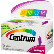 Мультивитамин CENTRUM WOMEN, 120 таблеток