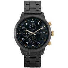 Мужские часы Kenneth Cole New York, спортивные черные, 47 мм