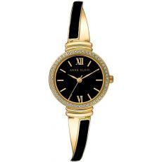 Женские часы Энн Кляйн (Anne Klein) аналоговый кварцевый двухцветный браслет, 26 мм