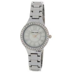 Женские часы Энн Кляйн (Anne Klein) кристалл сваровски украшенный безель, 27 мм