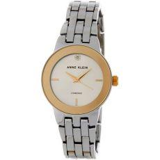 Женские часы Энн Кляйн (Anne Klein) Diamond Dial, бриллиантовые 30 мм