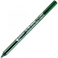 Карандаш для глаз JORDANA GLITTER ROCKS Retractable Eyeliner Green, зеленый