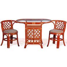 Комплект для завтрака, стол, 2 кресла