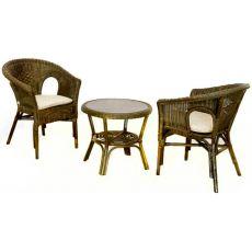 Комплект для завтрака, столик, 2 кресла