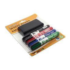 Маркеры цветные для доски TipTop TL8805, 4 шт