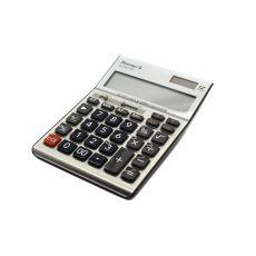 Калькулятор настольный Flamingo CD-2748-12RP серебристый