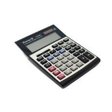 Калькулятор настольный Flamingo CD-2837 черно-серый