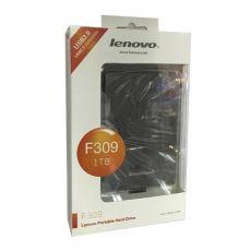 Внешний жесткий диск Lenovo 1TB HDD, USB3.0, черный