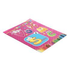 Раскраска для детей В-YK00014 10 листов