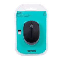 Мышь беспроводная Logitech М171, черный