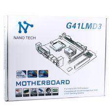 Материнская плата Nano Tech G41LMD3, LGA 775