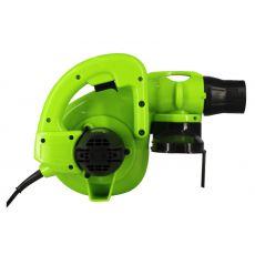 Ручной  воздуходувка для очистки компьютерной пыли Electric blower Q1F-3.5, черно-зеленый