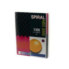 Блокноты на спирали А4 Spiral 5 мм 80 листов 10 шт