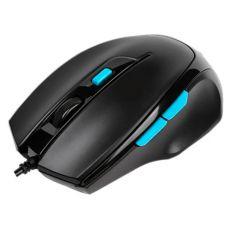 Игровая мышь проводная с 6 кнопками HP M150, черный
