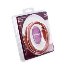 Кабель USB 2.0, Exeon 1.5 м, оранжевый
