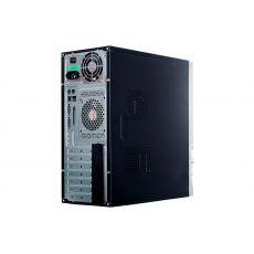 Корпус для компьютера MERCURY EXPRESS, БП 300W, кулер, кабель, черно-серебристый