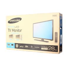 "Монитор Samsung 28"" TV + Monitor T28E310MX черный"