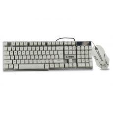 Беспроводная клавиатура+мышь LIMEIDE GTX 300, белый