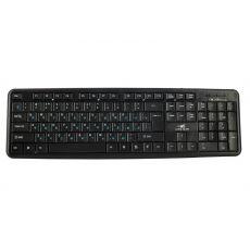 Беспроводная клавиатура+мышь DELKIN COMBO 2.4G, черный