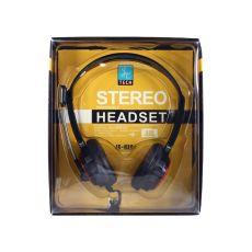 Наушники с микрофоном Tech JC-H360, черный