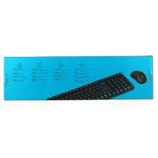 Беспроводная клавиатура+мышь RAPOO X1800S, черный