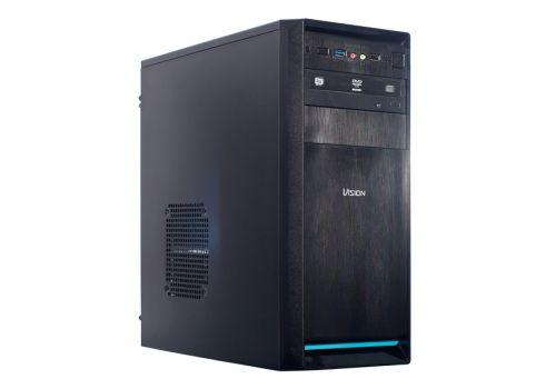 "Компьютерный комплект H81, Intel Core i3-4130, 8GB, 1TB+120GB SSD, GPU 2GB, 550W, DVD, BENQ 23"", клавиатура, мышь, колонки"