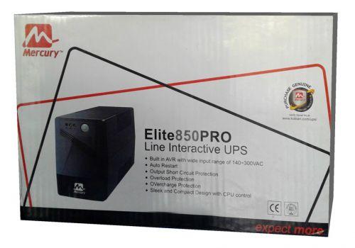 ИБП, UPS Mercury Elite 850 PRO, черный
