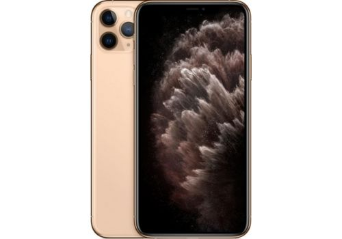 Смартфон Apple iPhone 11 Pro Max  512GB, 2 SIM, золотой
