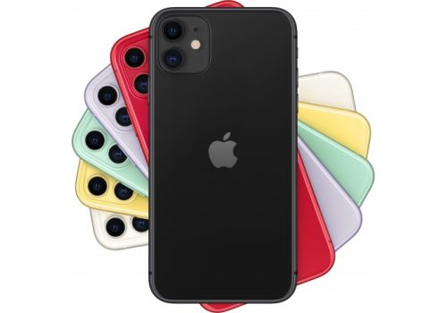 Смартфон Apple iPhone 11 64GB, 2 SIM, черный