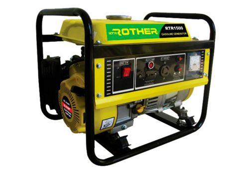 Бензиновый генератор RTRROTHER RTR1500, 1.1 kW