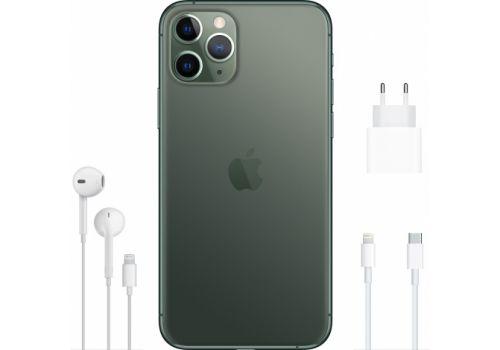 Смартфон Apple iPhone 11 Pro Max 512GB, 2 SIM, темно-зеленый