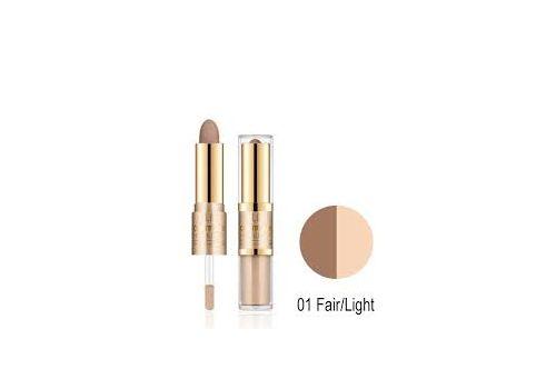 Контур и крем для лица Milani Contour & Highlight Cream & Liquid Duo