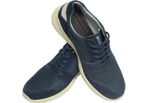 Кроссовки ecco, темно-синий