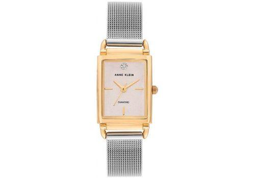 Женские часы Энн Кляйн (Anne Klein) Diamond Mesh Strap, бриллиантовые 21x39 мм