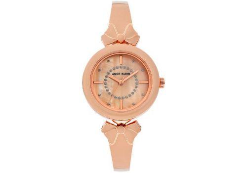 Женские часы Энн Кляйн (Anne Klein) Glitter Accented Enamel Bow Bracele, 31 мм