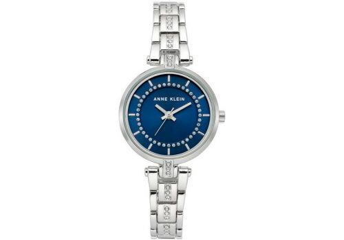 Женские часы Энн Кляйн (Anne Klein) кристалл украшенны, 30 мм