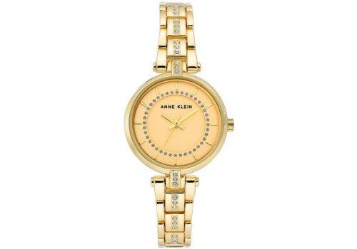 Женские часы Энн Кляйн (Anne Klein) кристалл украшенный, 30 мм