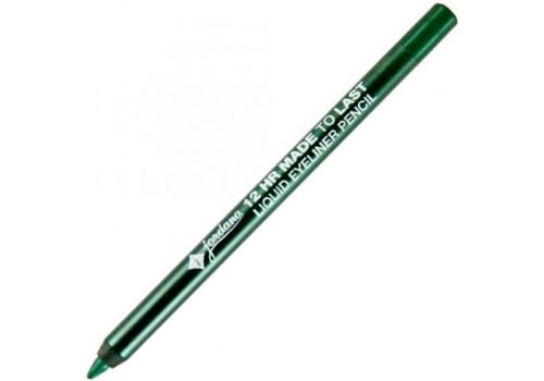 Карандаш для глаз JORDANA GLITTER ROCKS Retractable Eyeliner Green, зеленый