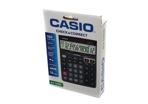 Калькулятор настольный Casio DJ-120 D черный