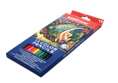 Набор цветных карандашей  Erich Krause 12 цветов
